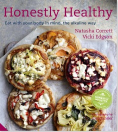 honestly healthy book cover