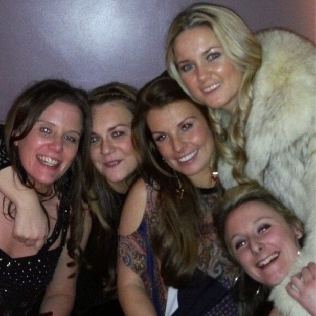 Coleen Rooney Sister Coleen Rooney Out With Friends