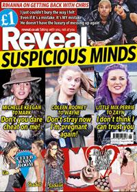 Reveal week six magazine cover