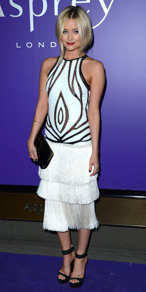 Miss Mode: Laura Whitmore at BAFTA nominees party