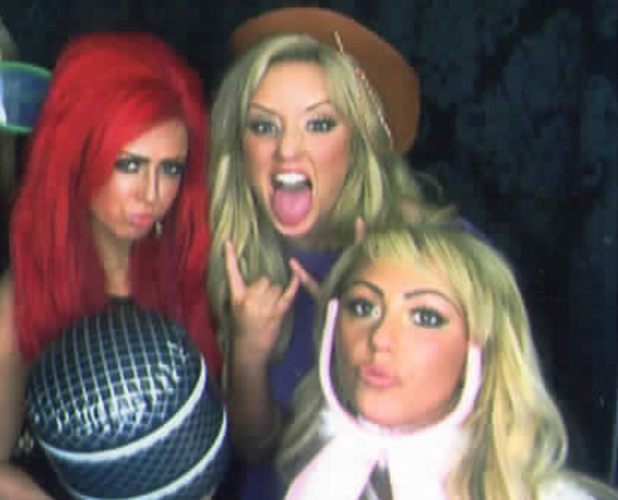 Geordie Shore's Holly Hagan, Charlotte Crosby and Sophie Kasaei #SilhouetteBySophie launch, 12 Feb 2013