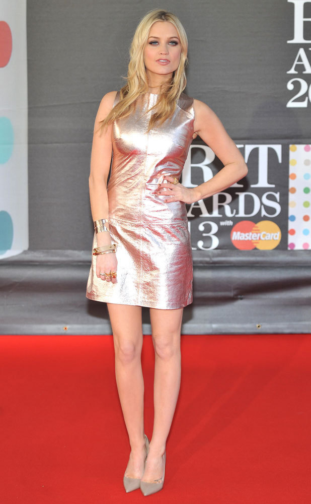 BRIT Awards 2013: celebrities on the red carpet