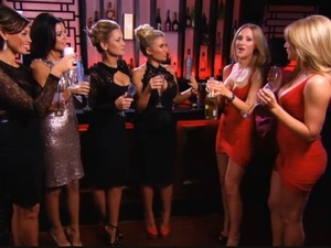 Lucy Mecklenburgh, Sam Faiers, Jessica Wright, Billie Faiers, Amy Broadbent appear in TOWIE - 24 Feb 2013