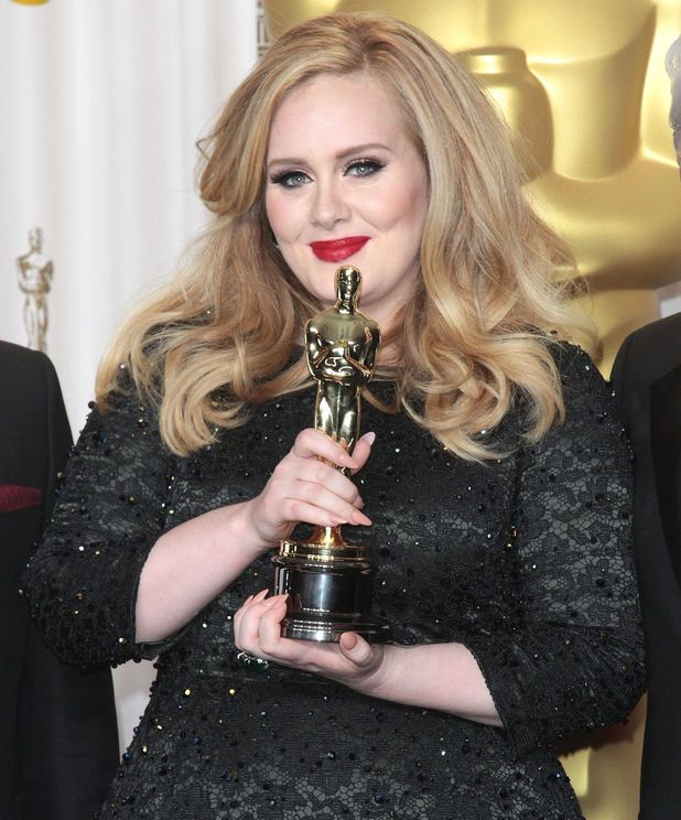 Adele, 85th Annual Academy Awards Oscars, Press Room, Los Angeles, America - 24 Feb 2013
