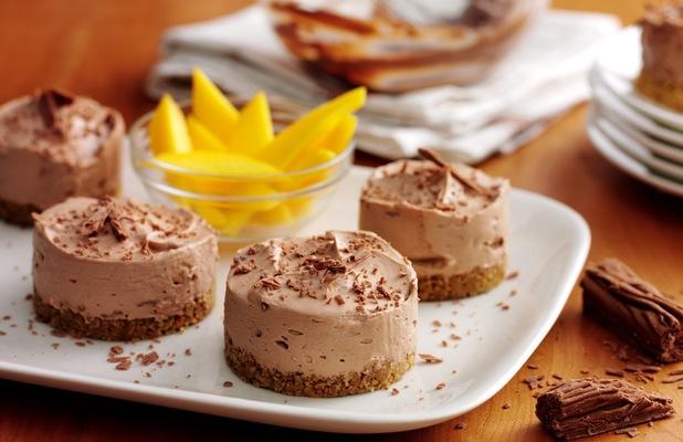 ... Individual Chocolate Fudge Cheesecakes - Lifestyle Recipes - Reveal