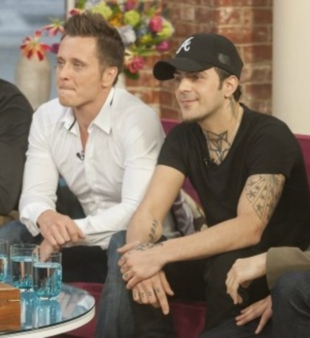 'This Morning' TV Programme, London, Britain - 07 Mar 2013 5ive - Scott Robinson, Ritchie Neville, Abz Love and Sean Conlon