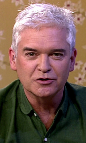 Phillip Schofield reveals what he looks like without make ...