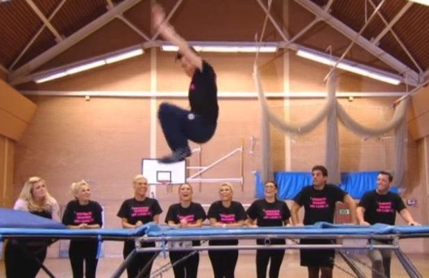 TOWIE-trampolining-Frankie Essex