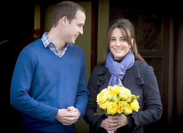 Kate Middleton's pregnancy in pictures