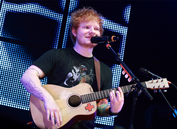 Ed Sheeran performing at the Festival Hall in Melbourne Featuring: Ed Sheeran Where: Melbourne, Australia When: 09 Mar 2013 Credit: WENN.com