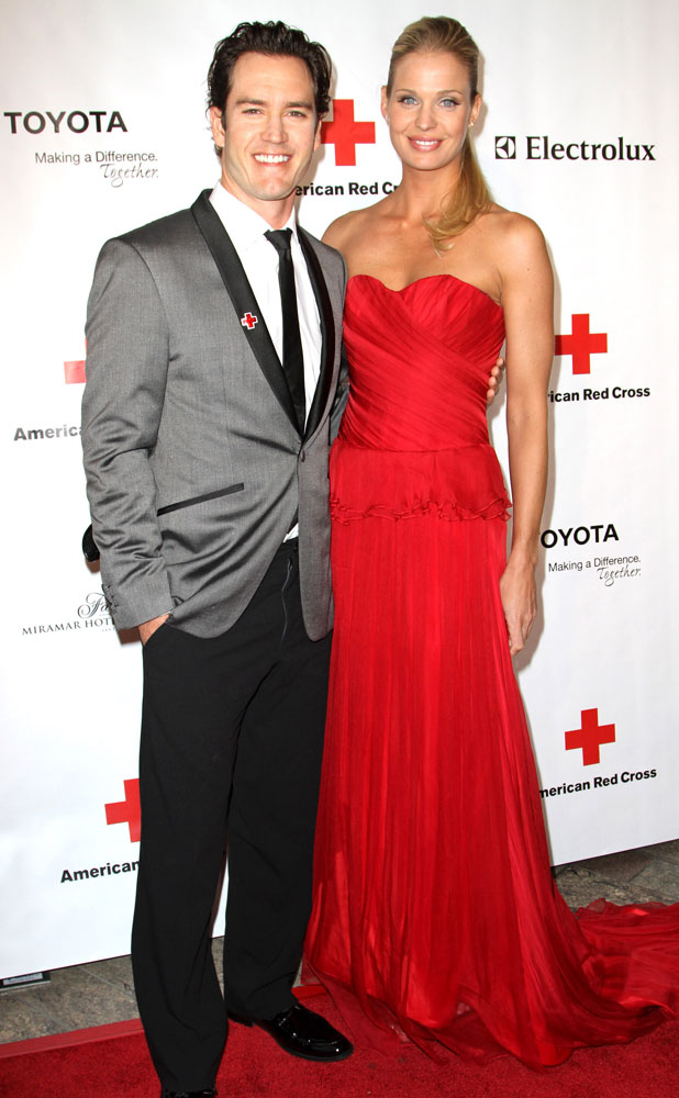 Mark-Paul Gosselaar and Catriona McGinn The American Red Cross Santa Monica Chapter's Annual Red Tie Affair held at the Fairmont Miramar Hotel and Bungalows - Arrivals Los Angeles, California - 09.04.11