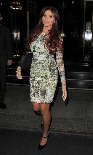 Celebrities leaving an event held at The Dorchester hotel Featuring: Amy Childs Where: London, United Kingdom When: 19 Mar 2013 Credit: Will Alexander/WENN.com
