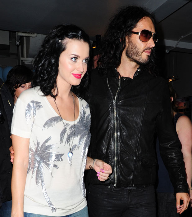 Katy Perry and Russell Brand Leaving a studio in London, England - 25.06.10