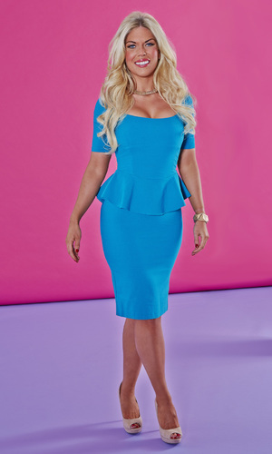 Frankie Essex shows off her fab new figure Reveal use only