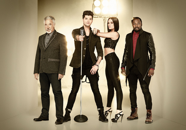 The Voice UK, Tom Jones, Danny O'Donoghue, Jessie J, will.i.am
