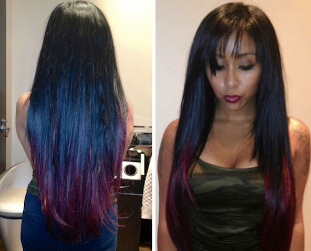 Images Of Dip Dye Black Hair Spacehero