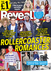 Reveal cover for issue 15, on sale 9 April 2013
