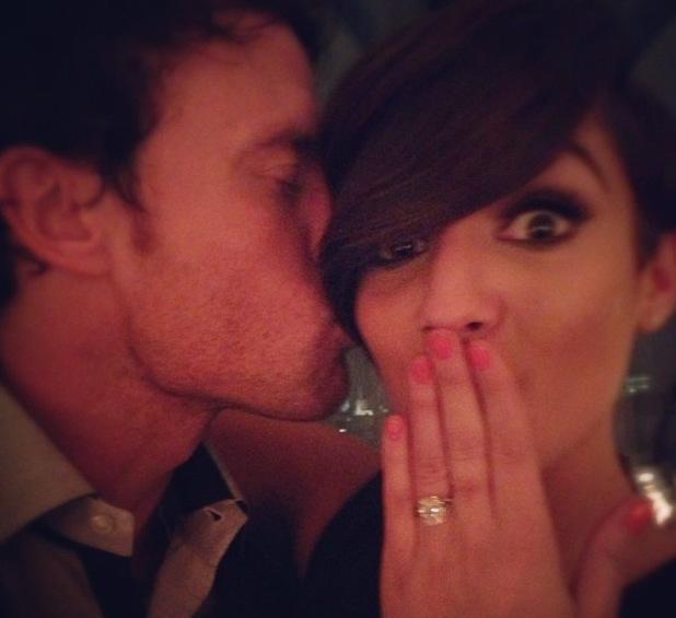 Frankie Sandford is engaged to Wayne Bridge 08.04.2013