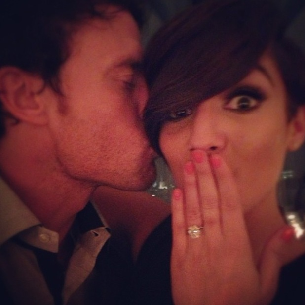 Frankie Sandford is engaged to Wayne Bridge 08.04.2013