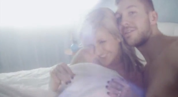 Ellie Goulding and Calvin Harris in sexy new video