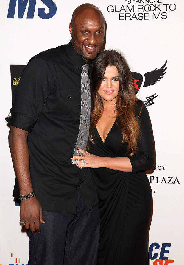 NBA player Lamar Odom and TV personality Khloe Kardashian 19th Annual Race to Erase MS held at the Hyatt Regency Century Plaza Century City, California - 05.18.12 Mandatory Credit: Brian To/WENN.com