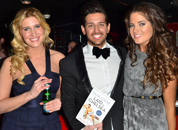 Made In Chelsea star Ollie Locke launch party for his new book 'Laid in Chelsea: My Life Uncovered' at 151 King's Road Featuring: Francesca 'Cheska' Hull,Ollie Locke,Binky Felstead Where: London, United Kingdom When: 27 Mar 2013 Credit: Joe Alvarez