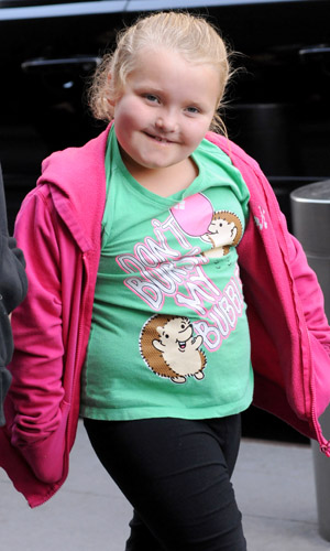 Alana 'Honey Boo Boo' Thompson out and about in Manhattan with her mother June Shannon Featuring: Alana 'Honey Boo Boo' Thompson Where: New York, United States When: 04 Apr 2013 Credit: Ivan
