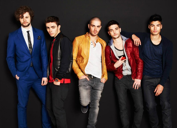 The Wanted promo photo for E!'s The Wanted Life. Featuring: Max George, Nathan Sykes, Tom Parker, Jay McGuiness and Siva Kaneswaran