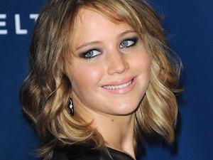 Jennifer Lawrence at the 24th Annual GLAAD Media Awards held at the JW Marriott, LA, 20 April 2013