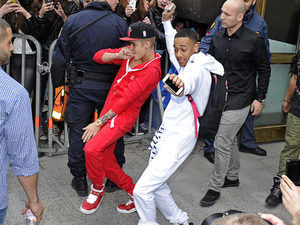 Justin Bieber puts on surprise street dance, goes clubbing ...