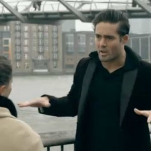 Made In Chelsea's Spencer Matthews and Louise Thompson from show aired on 22 April 2013.