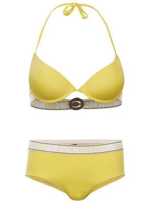 Reveal shop yellow Just Cavalli bikini