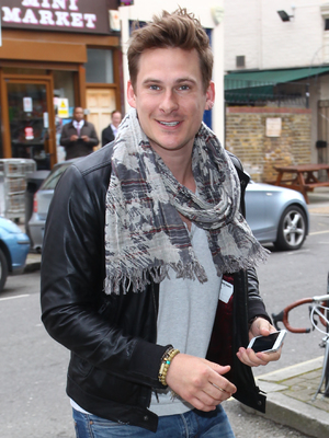 Caption:Celebrities arriving at the Riverside Studios to film 'Celebrity Juice' Featuring: Lee Ryan Where: London, United Kingdom When: 20 Mar 2013 Credit: WENN.com