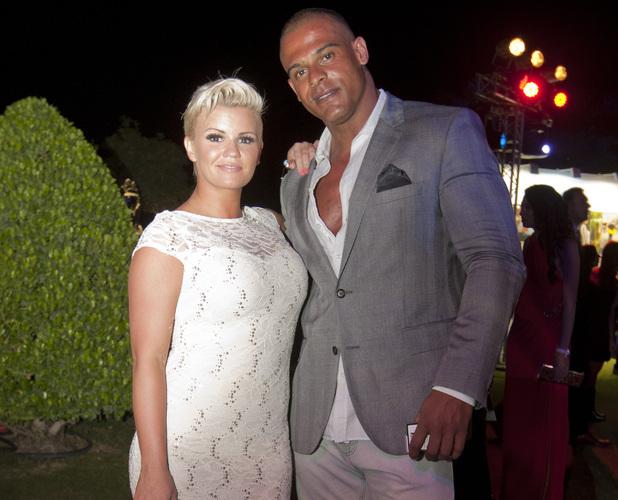 Kerry Katona and George Kay at Ahlan's Hot 100 Party, Dubai, March 2013