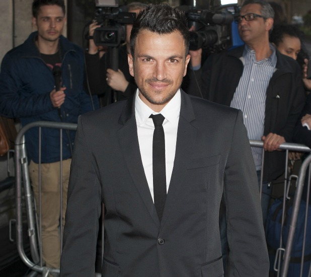 The Asian Awards held at the Grosvenor House - Arrivals. Featuring: Peter Andre Where: London, United Kingdom When: 16 Apr 2013 Credit: Daniel Deme/WENN.com