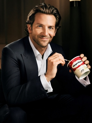 Bradley Cooper unveiled as the new face of ice-cream brand, Häagen-Dazs