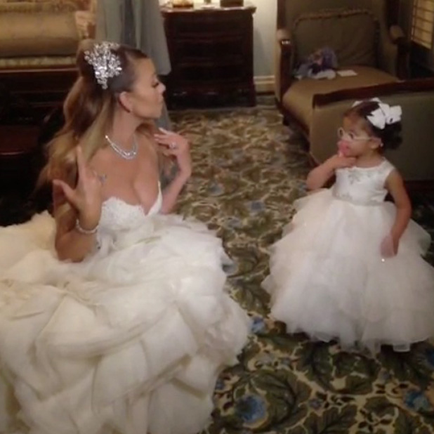 Mariah Carey Renews Vows In Fairytale Wedding At