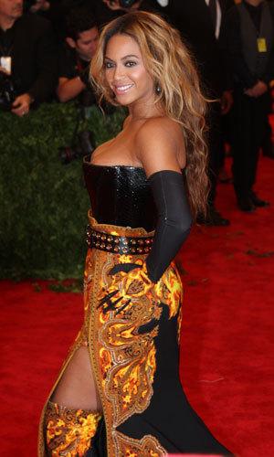 Beyonce at the Met Ball, 6 May 2013
