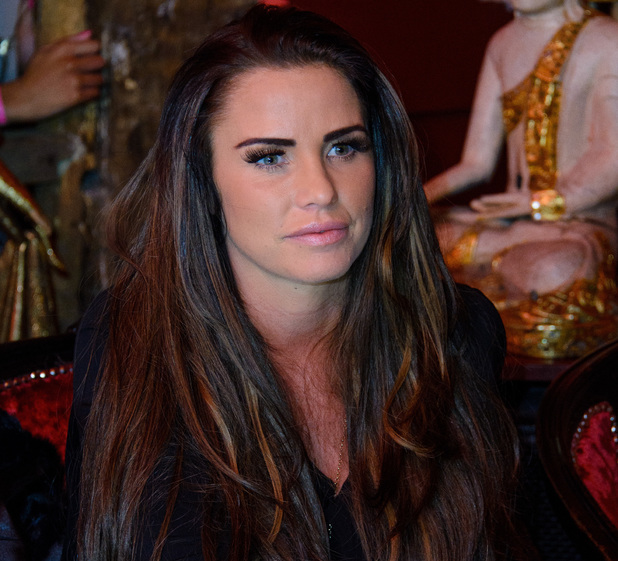 Katie Price arrives at the Miss Essex contest as a special guest judge. The winner of the most beautiful woman in Essex will compete in the Miss England final.