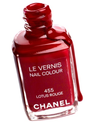 Chanel Nail Colour in Lotus Rouge, £18