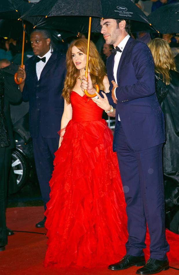 Sacha Baron Cohen And Isla Fisher 2013