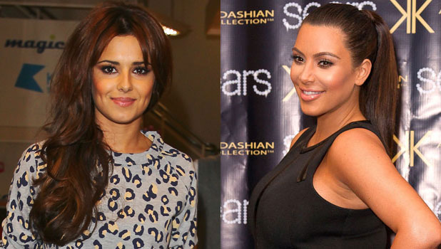 Cheryl Cole and Kim Kardashian composite: Cheryl sends Kim a message of support on Twittr, 16 May 2013