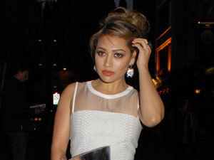 Millie Mackintosh and The Saturdays' Vanessa White wear same dress!
