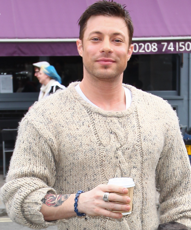 Duncan James arriving at ITV studios for Celebrity Juice - 20 March 2013