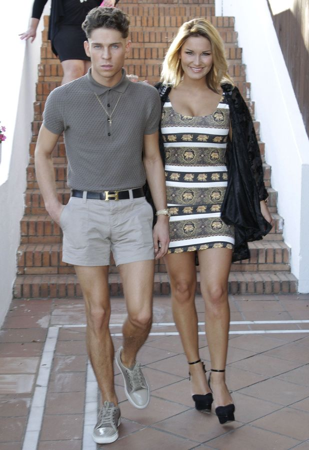 Sam Faiers, Joey Essex 'The Only Way Is Essex' cast in Marbella, Spain - 22 May 2013
