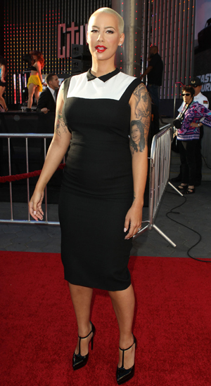 Los Angeles premiere of 'Fast & The Furious 6'  - Amber Rose - May 21