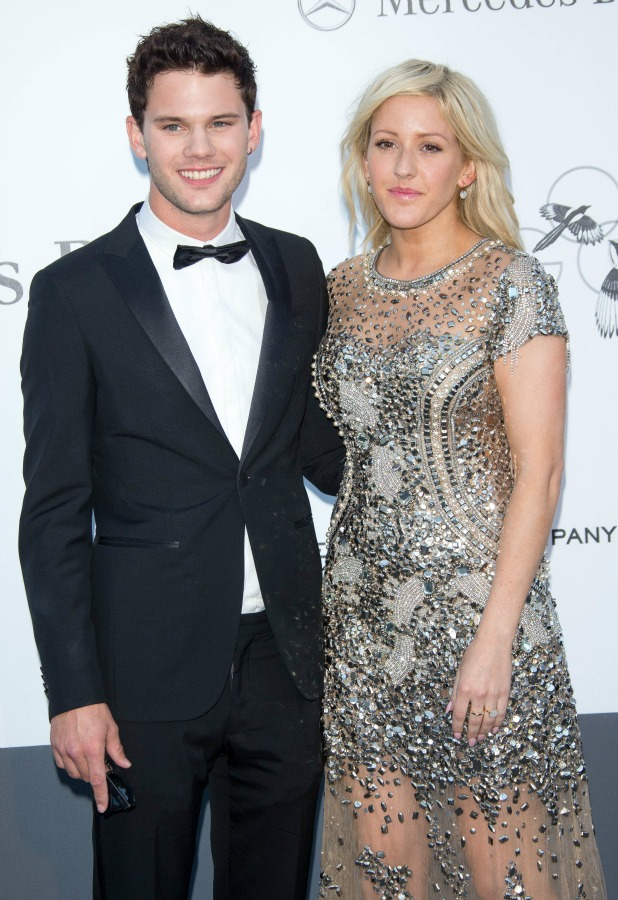 66th Cannes Film Festival - amfAR's 20th Annual Cinema Against AIDS 2013 - Arrivals Person In Image: Jeremy Irvine,Ellie Goulding Credit : WENN.com Special Instructions : Not available for publication in Germany Date Created :05/23/2013 Location :Cannes, France