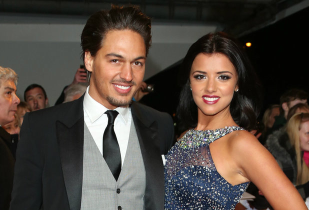 National Television Awards Caption:	National Television Awards 2013 held at the O2 arena - Arrivals PersonInImage:	Mario Falcone, Lucy Mecklenburgh Credit : Lia Toby/WENN.com