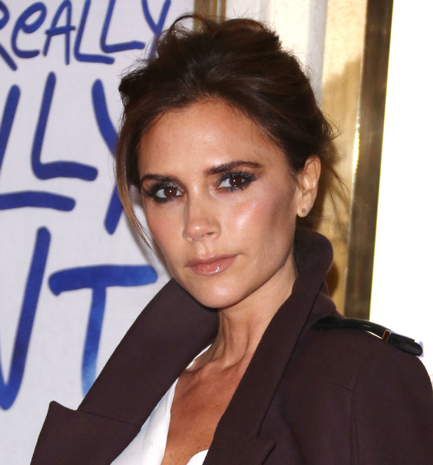 Victoria Beckham at the Viva Forever Spice Girls musical launch - London 11/12/12