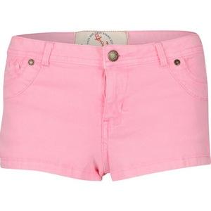 reveal shop pink denim shorts